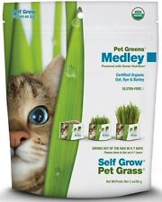 Bellrock Growers Pet Greens Self Grow Medley Pet Grass, 3-oz bag FREE SHIPPING