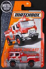 2016 Matchbox #76 Blaze Blitzer™ RED/WILTON FIRE/MOC
