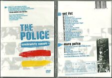 RARE / DVD - THE POLICE ( STING ) EN CONCERT LIVE / NEUF EMBALLE - NEW & SEALED