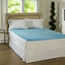 Full Double Gel Memory Foam Bed Mattress Topper Pad Matress Bedroom Furniture