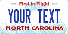 North Carolina 1981 Custom Personalize Motorcycle Bike Moped Auto License Plate