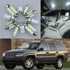 NEWEST White Light Interior LED Package 15x for Jeep Grand Cherokee 1998-2004 L7