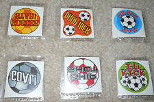 Lot of 12 Soccer temporary children's tattoos birthday party favor goody bags