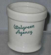 WALGREEN AGENCY MUSTARD JAR ca. 1940s