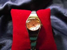 Woman's Quartz  Watch with Pink Face **Nice** FF-093