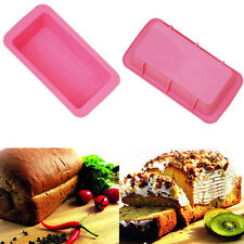 Toast Bread Loaf Cake Mold No-Stick Bakeware Baking Pan Oven Rectangle Mould