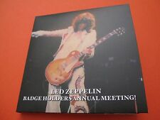 LED ZEPPELIN / BADGE HOLDERS ANNUAL MEETING, 1977, USA / EMPRESS VALLEY, 3CD