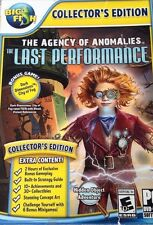 The Agency Of Anomalies The Last Performance CE PC Games Window 10 8 7 Vista XP