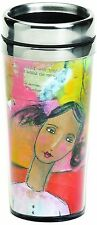 Demdaco The Kelly Rae Roberts Collection She Knew Insulated Travel Mug