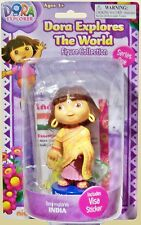 Rare Dora Explores The World Figure - India - 12cm Tall -BRAND NEW AND SEALED #S