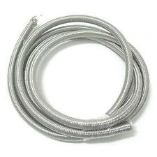 """5' Roll 5/16"""" x 9/16"""" Stainless Steel Braided Oil/Fuel Line for Harley"""