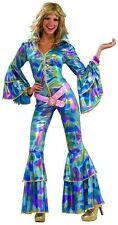 70s Disco Mama Psychedelic Hippie Adult Costume XS/SM