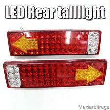 Rear Tail Lights Led Lamps Lorry Truck Trailer Chassis 24v