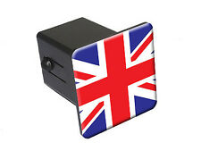 Great Britain British Flag - Tow Trailer Hitch Cover Plug Insert Truck