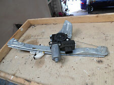 Jaguar X-Type Window Regulator. Left Hand Rear. Near Side UK.