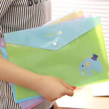 1X A4 File Folder Document Bag Pouch Brief Case Office Book Holder Organizer Hot