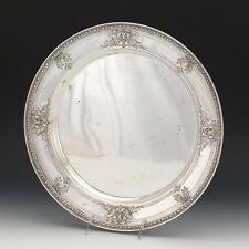 Watson Navarre Sterling Silver Large Round Serving Platter Tray