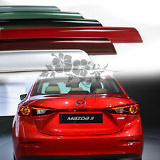 New Painted Color Mazda 3 Sedan 2014-2016 Rear Trunk Lip Spoiler PUF mazda3 ◣
