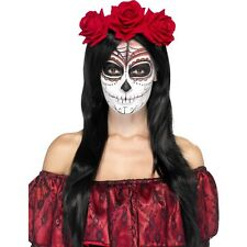 Womens Ladies Dead Of The Dead Handband Halloween Horror Fancy Dress Theme