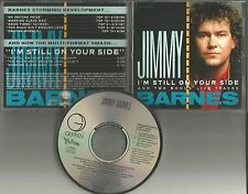 JIMMY BARNES w/ JOURNEY I'm Still on Your Side w/2 RARE LIVE PROMO CD Neal Schon