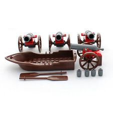Pirate Row Boat and Cannons - Bulk Lego Compatible Building Block Parts