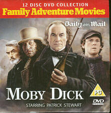 MOBY DICK - Patrick Stewart - Family Adventure Movie - DVD