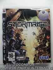 OCCASION: Jeu STORMRISE ps3 playstation 3 sony francais action sai echelon game