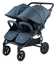 Valco 2016 NEO Twin Stroller in Denim Tailormade Fabric Brand New!! Double