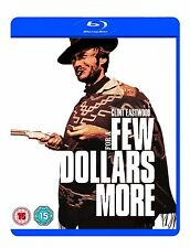 FOR A FEW DOLLARS MORE BLU RAY Brand New Sealed UK Release Clint Eastwood