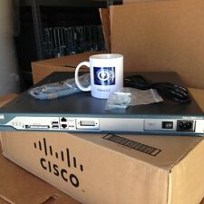 CCNA CCNP CCIE CISCO 2811 AC-IP Router IOS 15 CME 8.6 512D/1GB w/ AIM-CUE