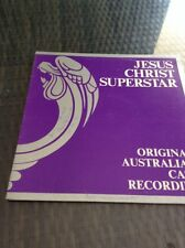 JESUS CHRIST SUPERSTAR-Original Oz Cast-LP - HAND SIGNED BY Stevie Wright