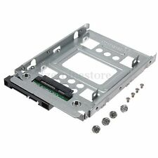 2.5'' SSD to 3.5'' SATA HDD Hard Disk Drive Adapter Caddy Tray Cage & Screws