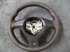 STEERING WHEEL   BMW E46 M3 E 39 M5 X5   NEW LEATHER