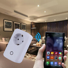 Wifi Cell Phone Wireless Remote Control Switch Timer Power Socket EU Plug