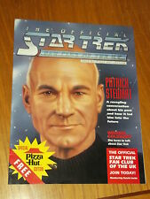 STAR TREK OFFICIAL FAN CLUB OF THE UK SPECIAL PIZZA HUT EDITION UK MAGAZINE~