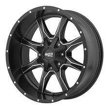 20x9 Black milled rims MOTO METAL 970 2005-2015 FORD F-150 trucks 6X135 +18MM