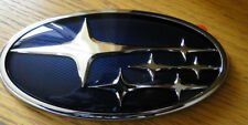 Subaru Impreza Blue STI Badge Boot Tailgate badge Emblem Hawkeye 2006-2007