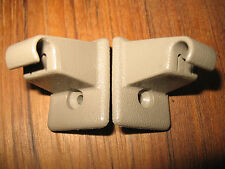 1995 - 1999 Chevrolet Suburban OEM TAN Sun Visor Clips (2) & Screws (2)