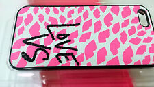 Victoria's Secret IPHONE 4 4S I Phone hard-shell case Pink LIPS Logo Authentic