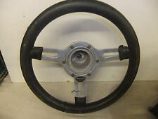 "Car steering wheel MOUNTNEY Wheels 13"" needs a clean do not know boss fitting"