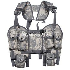 MILITARY TACTICAL ACU CAMOUFLAGE LOAD BEARING COMBAT ASSAULT LBV 88 VEST