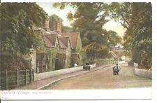 LOVELY VINTAGE POSTCARD,CANFORD VILLAGE,NEAR WIMBOURNE,DORSET
