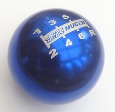 NEW GENUINE BLUE MUGEN 6 SPEED GEAR SHIFT KNOB CIVIC TYPE R S2000 ACCORD JAZZ