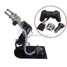 4 DOF Robot Metal Mechanical Arm Kits & PS2 Handle & 4pcs MG996R & control board