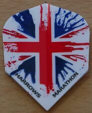"10 Sets (10X3) Harrows Marathon ""Union Jack"" Dart Flights"