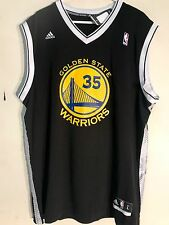 Adidas NBA Jersey Golden State Warriors Kevin Durant Black Alt sz M