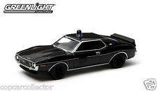 Greenlight 1/64 Black Bandit 1971 AMC Javelin Police Car - Series 10