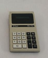 Imperial Typewriter Royal Mini Five Calculator 1974