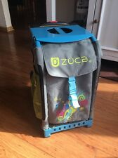 LIGHTLY USED: Zuca(Züca) Bag Green Gray And Blue