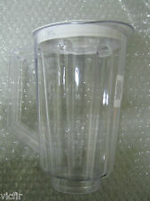Plastic Jar Replacement Part for Hamilton Beach Blender & Lid,44 oz,5 1/2 Cups